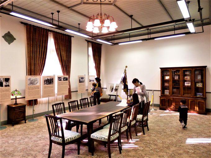 奈良女子大学百年の歴史を感じさせる展示品の数々