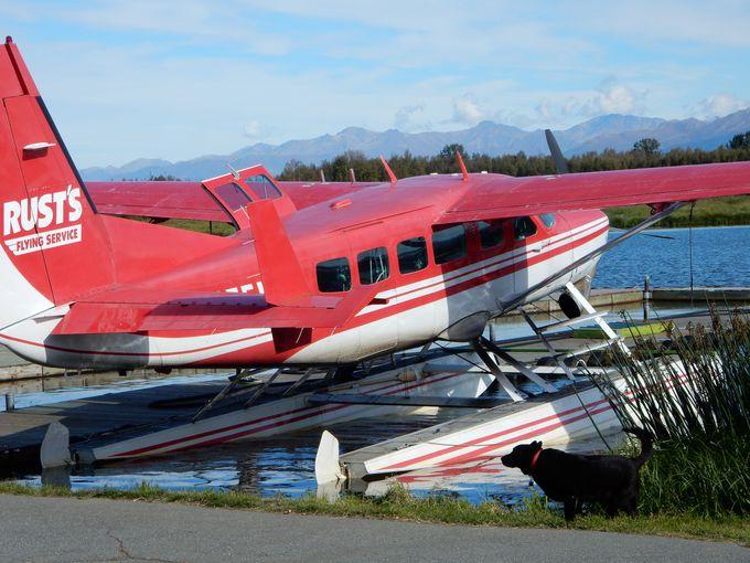 アラスカと空の旅