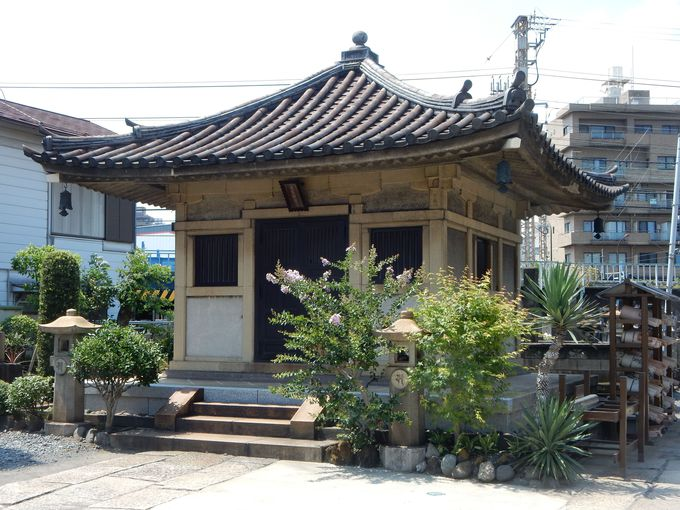浦島太郎を祀る「慶運寺」と「成仏寺」