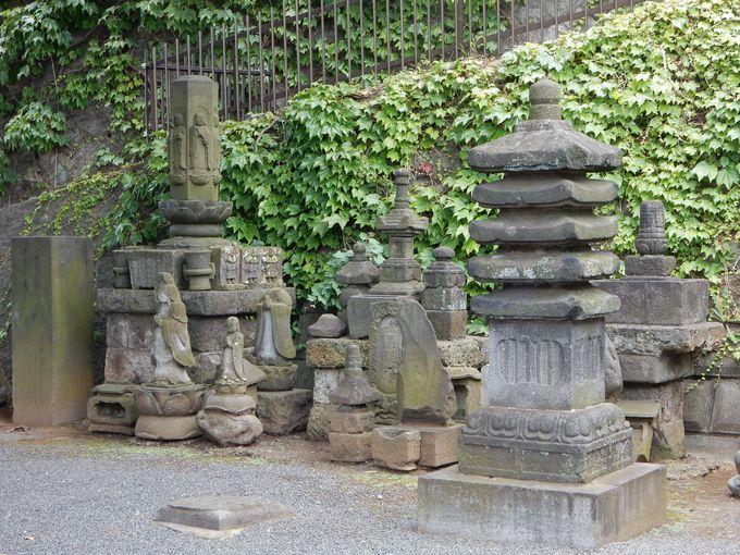 浦島父子の供養塔が残る蓮法寺