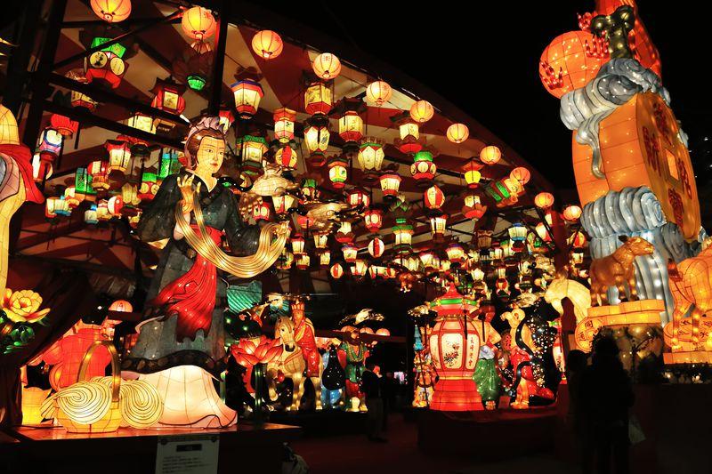 春節に浮び上る幻想の世界!「長崎ランタンフェスティバル」