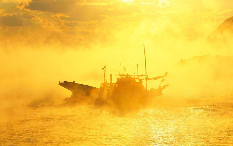 カメラに収めたい絶景〜高知・中土佐町と双名島の海霧
