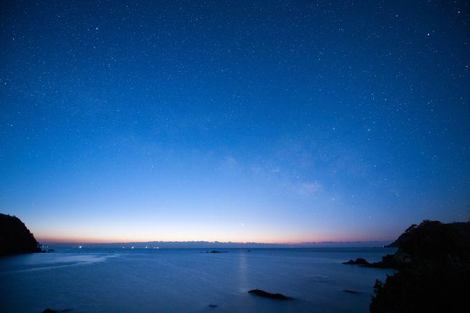 双名島伝説の鬼もこの満天の星空を見ていただろうか?