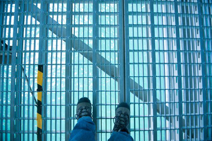さすが世界一の吊橋、全てが桁外れ!