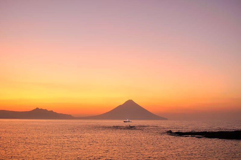 「春の龍宮岬」鹿児島薩摩富士の麓は幸せ色で満たされる!