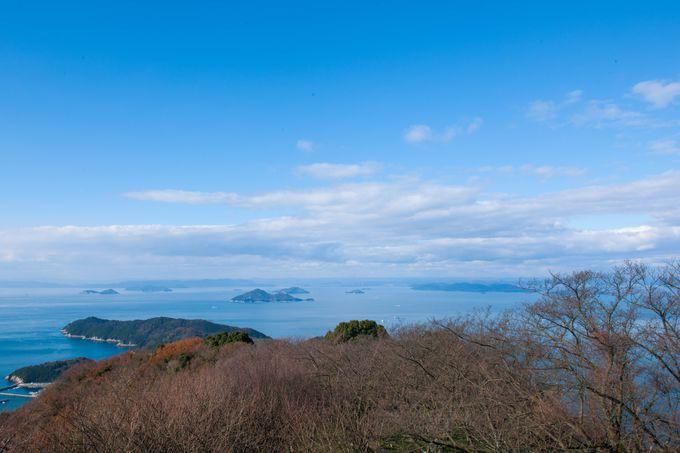 瀬戸内海360度の大パノラマ展望台