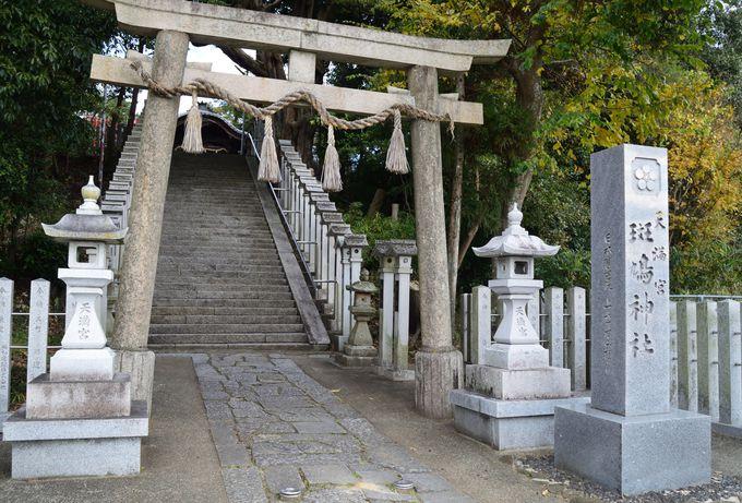 さらに飛鳥時代と変わらない集落を通って法起寺へ