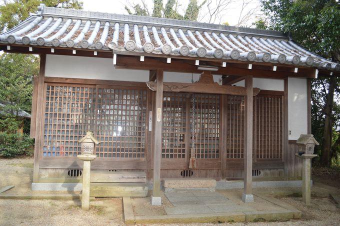 平安時代からの公の神社として認定(鏡作伊多神社)