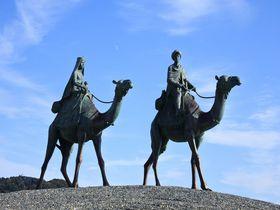 あの童謡の世界へトリップ!千葉県御宿町『月の沙漠』記念像&記念館|千葉県|トラベルjp<たびねす>