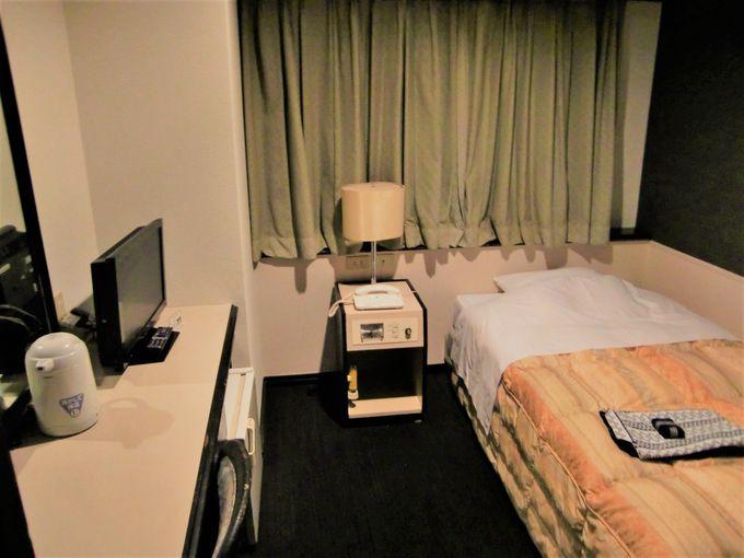 ビジネスにも家族連れにも合う種類の客室!「かごしま空港ホテル」