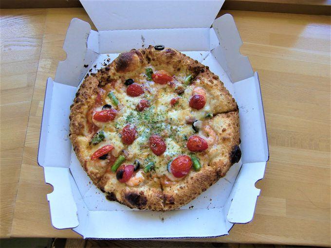 パン・ピザ好きには最高!道の駅くろまつない「トワ・ヴェール・ドゥー」