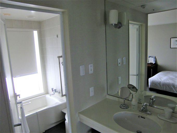 客室は洗面、トイレ、バスルームが独立!「中部国際空港セントレアホテル」