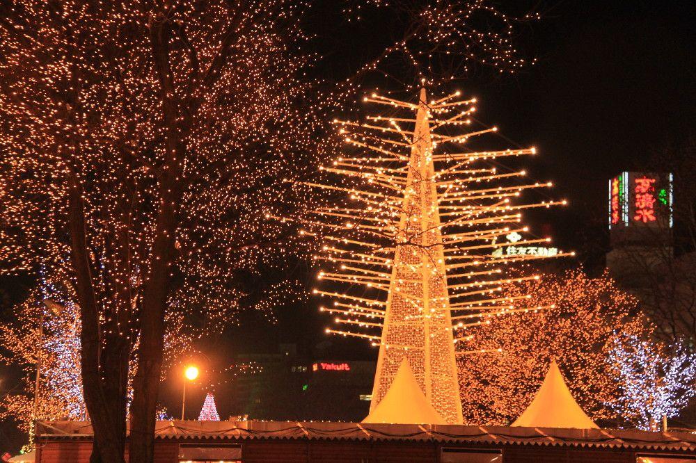 40万個の電球が街を彩ります