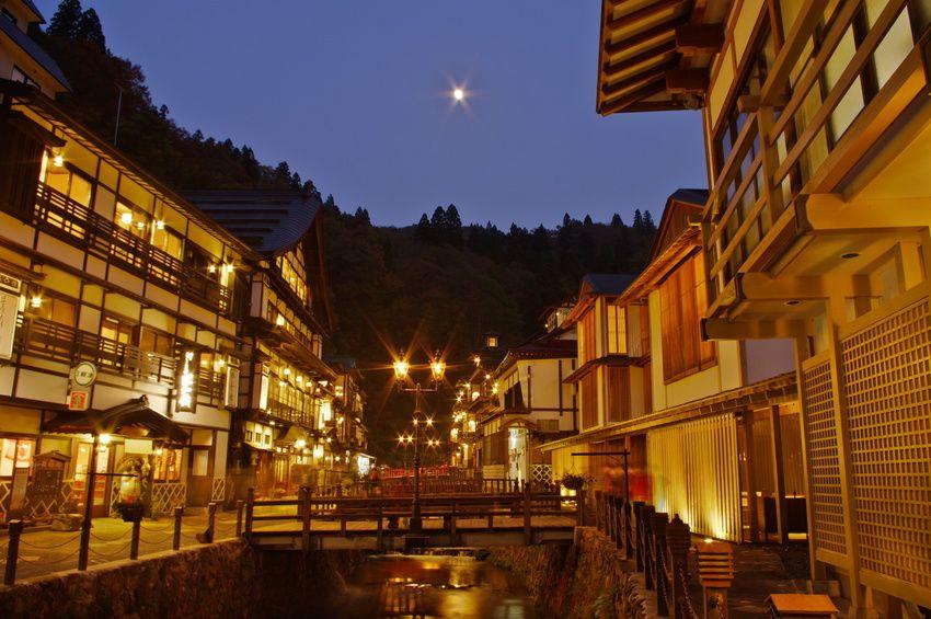 1.銀山温泉