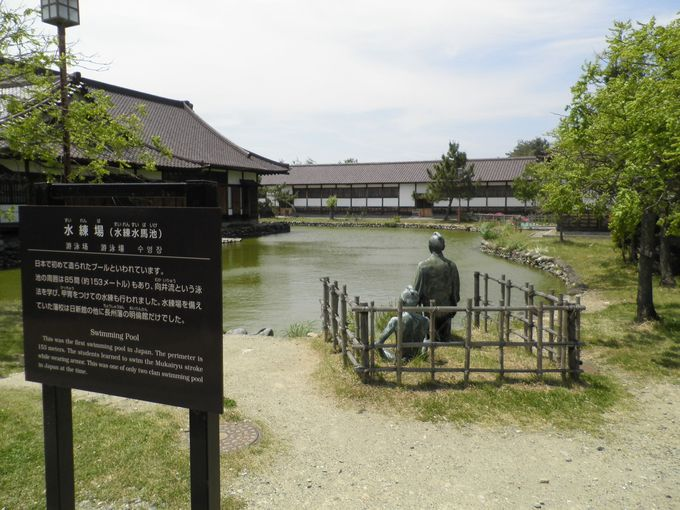 日本初のプール!