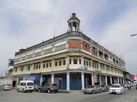 戦前のノスタルジックな街並みバトゥ・パハ マレーシア