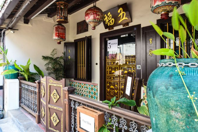 ババ・ニョニャ文化を体感できるホテル