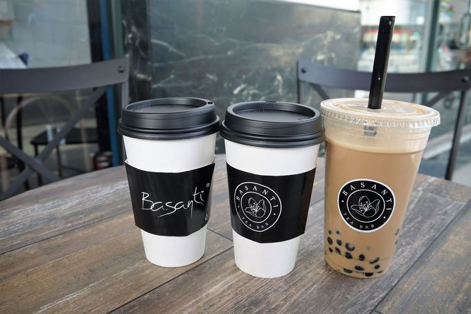 お口直しにぴったりな良質なカフェ「Basanti」世界各国のティーが楽しめます!