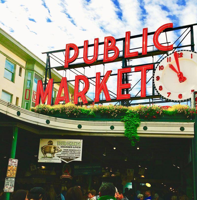 シアトルの人気観光スポット「パイク・プレイス・マーケット」満喫プラン