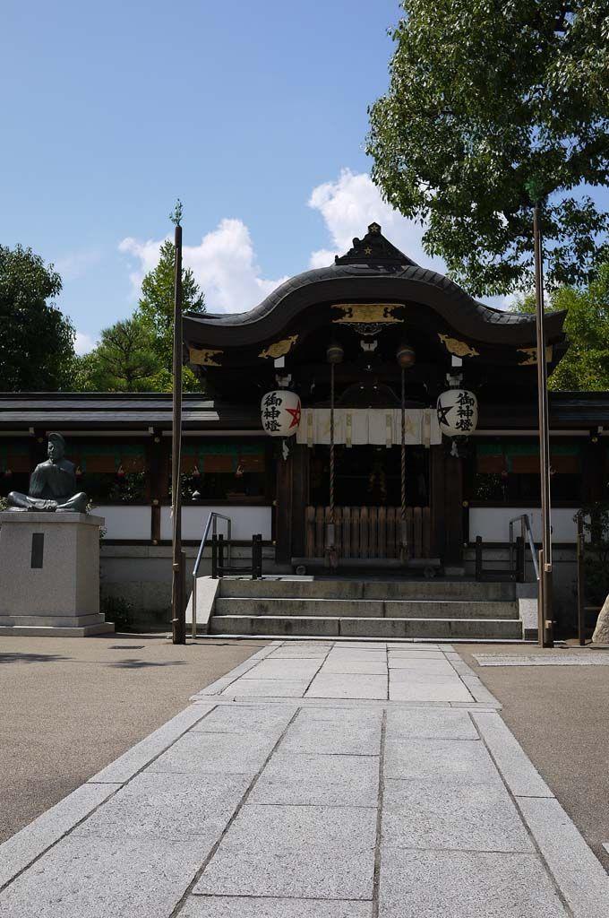 京都ブライトンホテルから、徒歩15分の場所にある晴明神社