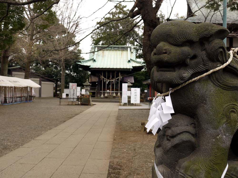 「子育ての八幡」と呼ばれてる篠原八幡神社