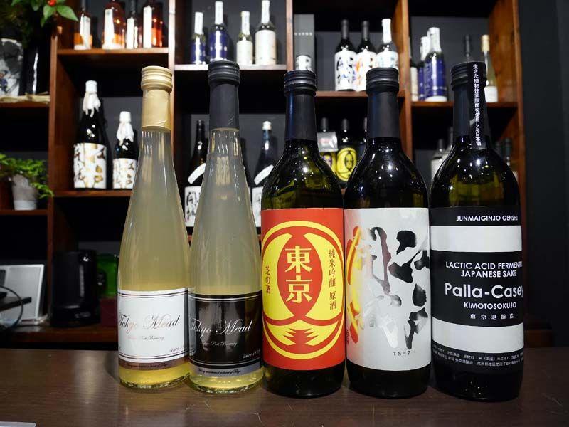 進化する東京そのものお酒は東京土産としてもオススメ