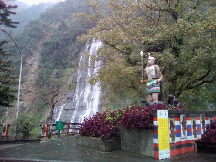 烏来温泉郷の自然