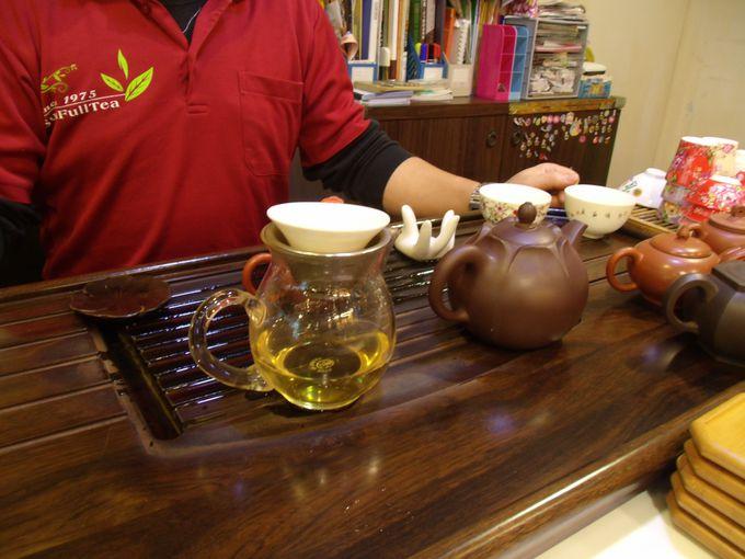 阿里山烏龍茶がリーズナブルな価格で