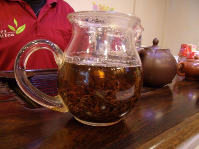 めずらしい阿里山紅茶