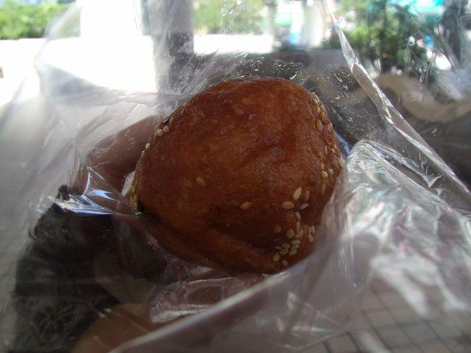丸くてかわいらしいお菓子「炸棗」