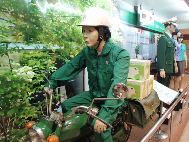 雨の日の台湾観光に!フォトスポット満載な台北「郵政博物館」