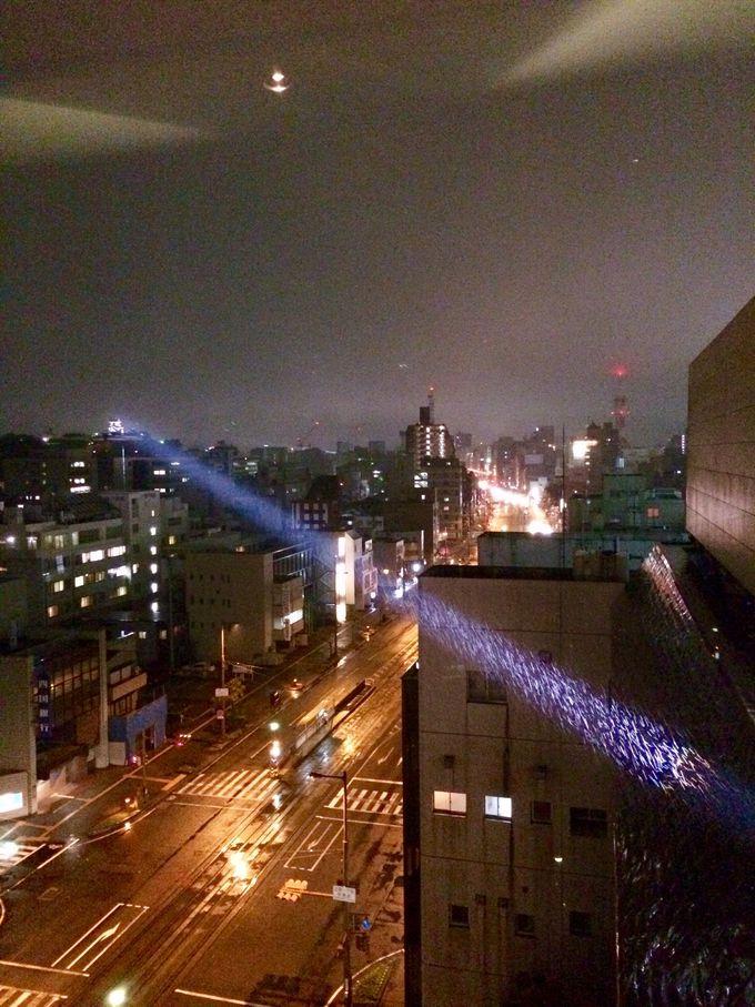 (4)高知城のライトアップを、自らの手で!