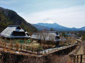萱葺民家と富士山のビューポイント!山梨「西湖いやしの里根場」|山梨県|トラベルjp<たびねす>