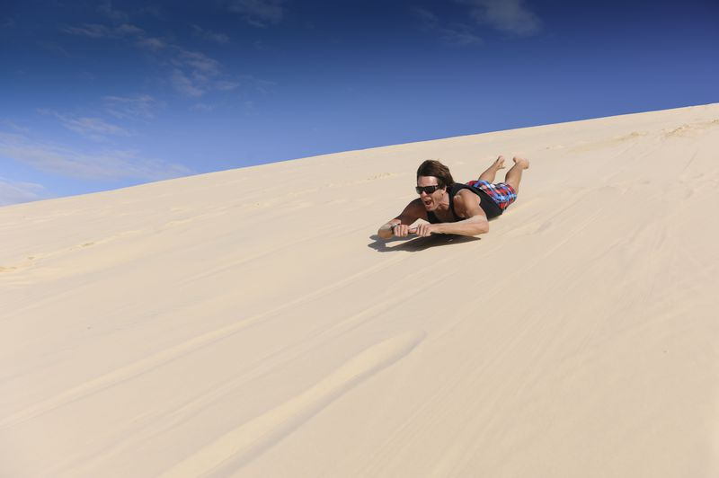 白砂のモートン島で砂すべり!オーストラリア「タンガルーマ・アイランドリゾート」