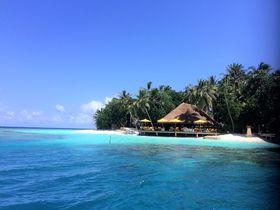 モルディブで最も美しいサンゴ礁に囲まれたリゾート!「アンサナ・イフル」
