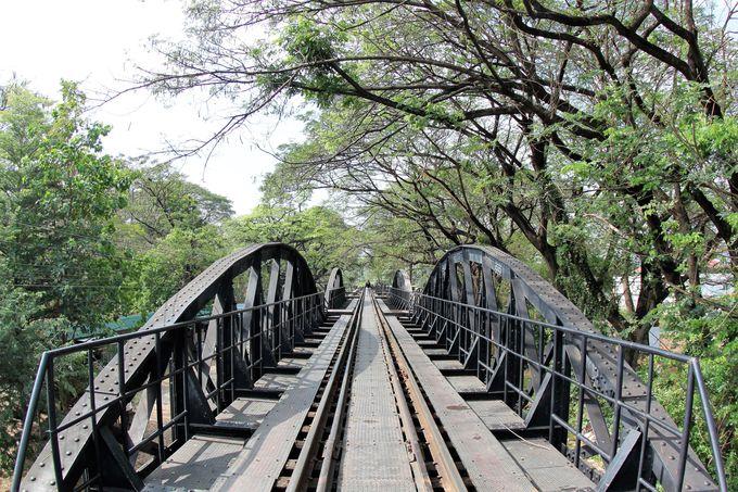 カンチャナブリを通る泰麺鉄道の歴史