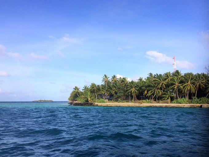 残された自然豊かな「ラスドゥ島」