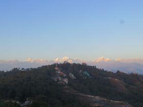 ヒマラヤ山脈を望むベストスポット「クラブヒマラヤ・ナガルコット・リゾート」