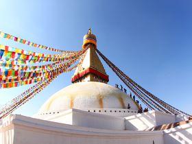 ネパールの首都カトマンズ郊外の町!バクタプル・ティミ・ボダナート散策