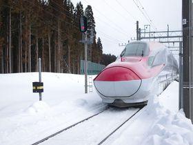 最接近!新幹線の通過するJR田沢湖線の秘境駅・岩手「赤渕」|岩手県|トラベルjp<たびねす>