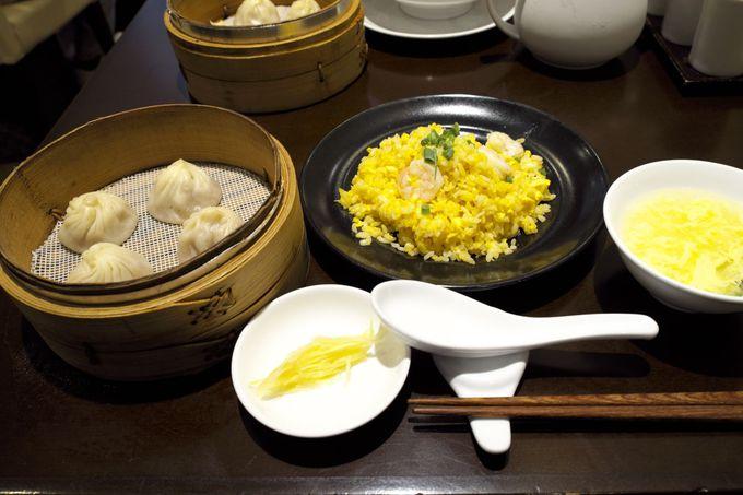 小龍包の味は、台北の本店とまったく変わりません。