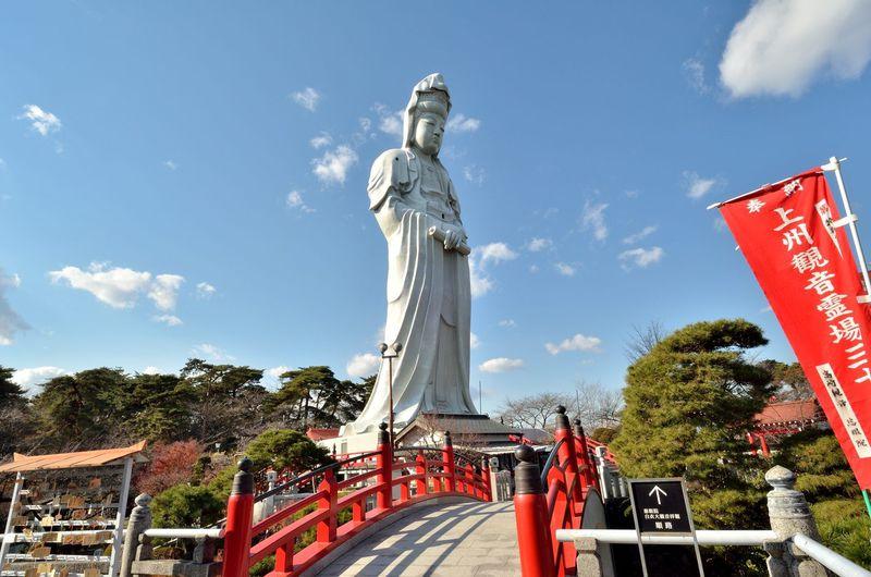 高崎に行ったら必ず行きたい2大名所 高崎白衣大観音と少林山達磨寺 群馬県高崎市