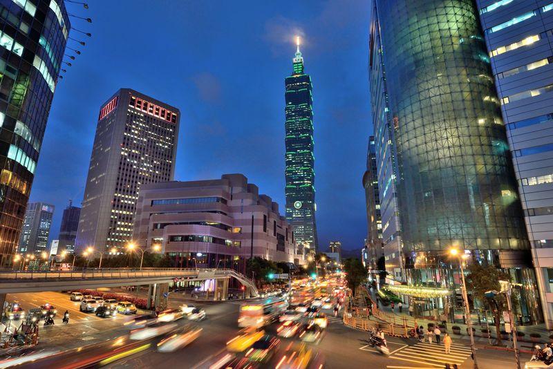 台北のランドマーク「台北101」がきれいにとれる撮影スポット