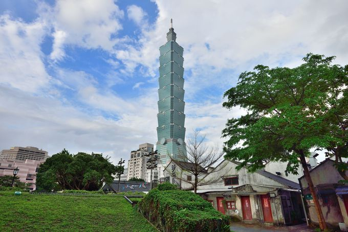 1日目・超高層ビル台北101とオシャレスポット四四南村