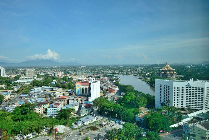 プルマンホテルから見た街の風景