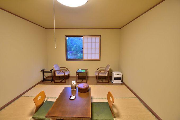 旅館棟の客室
