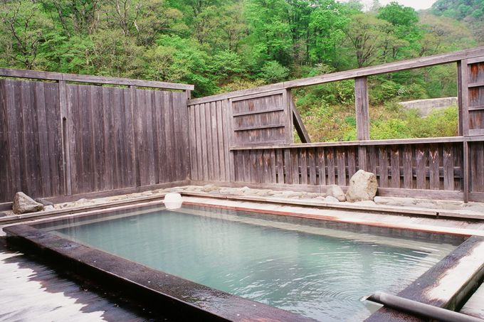 単純温泉の男女別風呂