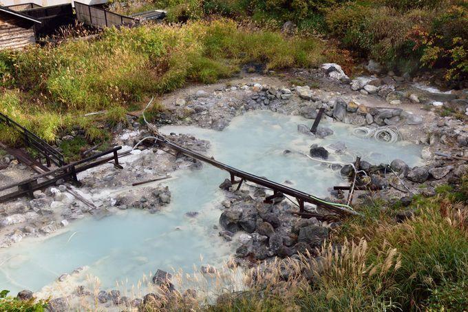 単純温泉の源泉