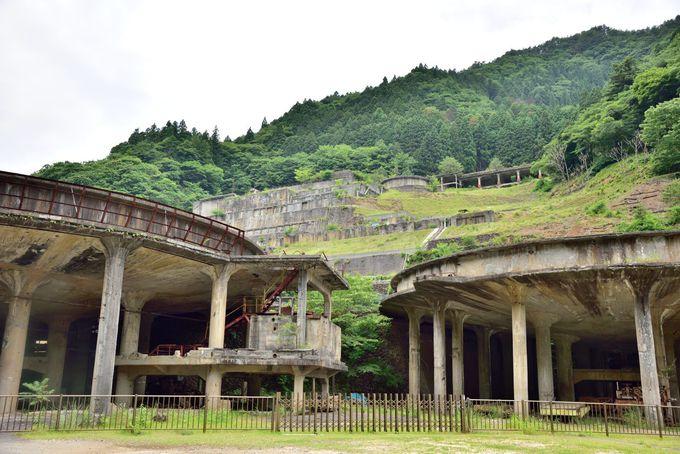 廃墟好きにはたまらない!?神子畑(みこばた)選鉱場跡