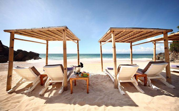 宿泊者専用のプライベートビーチ「クブビーチ」